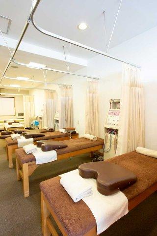京都市上京区 北区エリアにあるもり鍼灸整骨院の内観画像です。