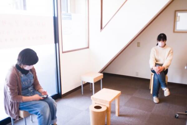 もり鍼灸整骨院 京都 待合室